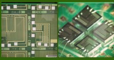 Travel to Mars a microchip designed by researchers from the Department